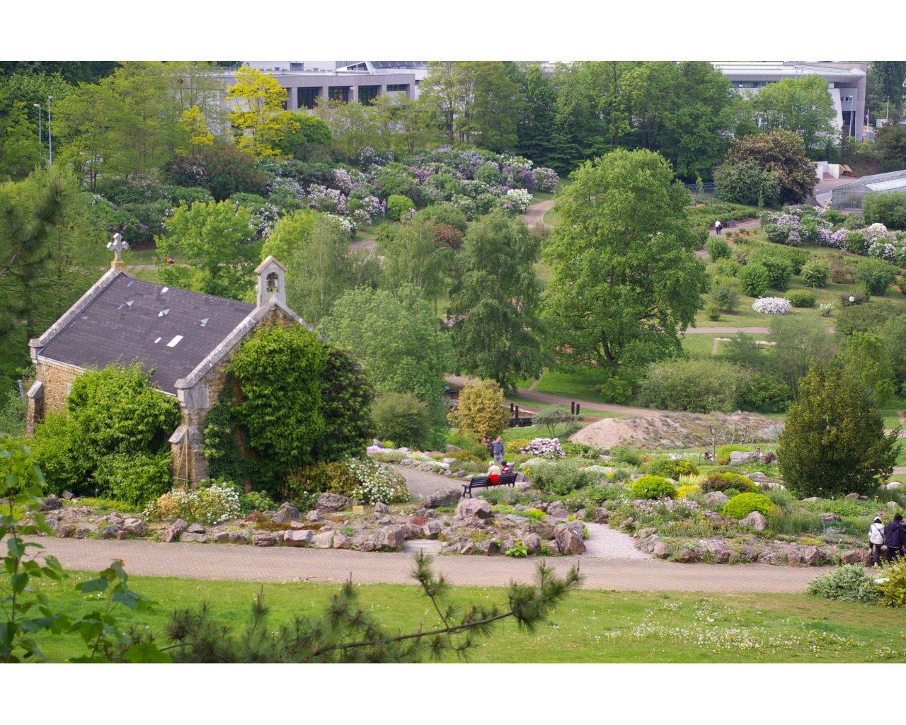 Jardin Botanique Jean Marie Pelt Carte Interactive Des Lieux A